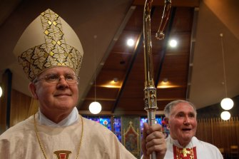 Brisbane Catholic Archbishop Mark Coleridge.