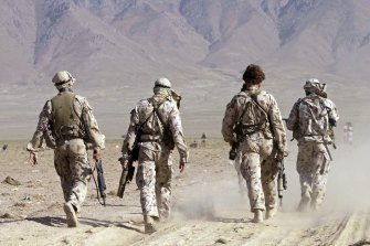 Boots on the ground ... as fast as our troops were withdrawn, Australia is contemplating a return of intelligence officers to Afghanistan.