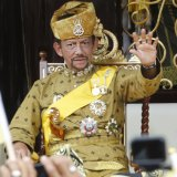 Sultan Hassanal Bolkiah introduced the penalty of death by stoning for sex between people of the same gender.