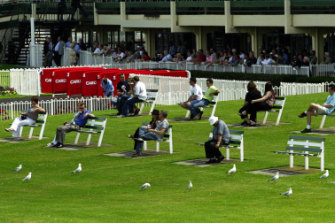 Sandown Racecourse.