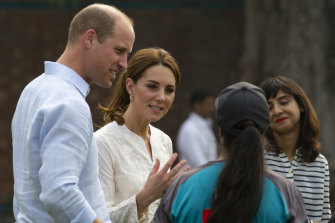 Prince William and Kate, Duchess of Cambridge, were in Pakistan last week, where they played cricket and visited a hospital in Lahore which was also visited by William's mother, the late Diana, Princess of Wales.
