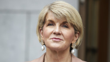 Foreign Minister Julie Bishop is weighing up an exit from politics.