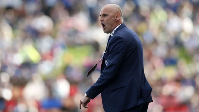 Final word: Victory coach Kevin Muscat will decide whether to humbly form a guard of honour for fierce rivals, Sydney FC.