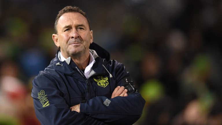 Major impact: Raiders coach Ricky Stuart says injuries have been a key factor in their disappointing season.
