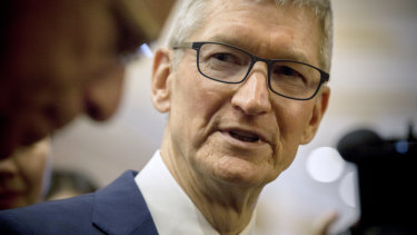 Apple chief Tim Cook is estimated to be worth about $US700m.