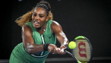 Serena Williams cruised through her second round match.