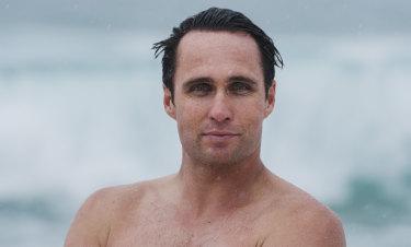 Former Australian Olympian and Ironman Ky Hurst,.