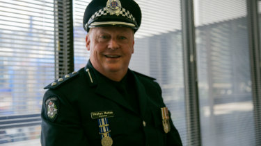 After a long and decorated career in the police, Stephen Mutton is proudest of his work with marginalised communities.