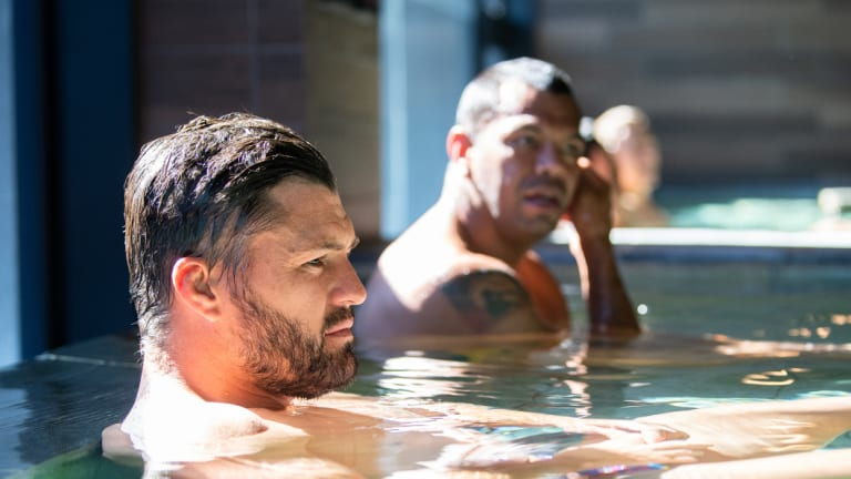 Adam Ashley-Cooper and Kurtley Beale were not eligible for selection in this weekend's Test against England after breaking team protocol.