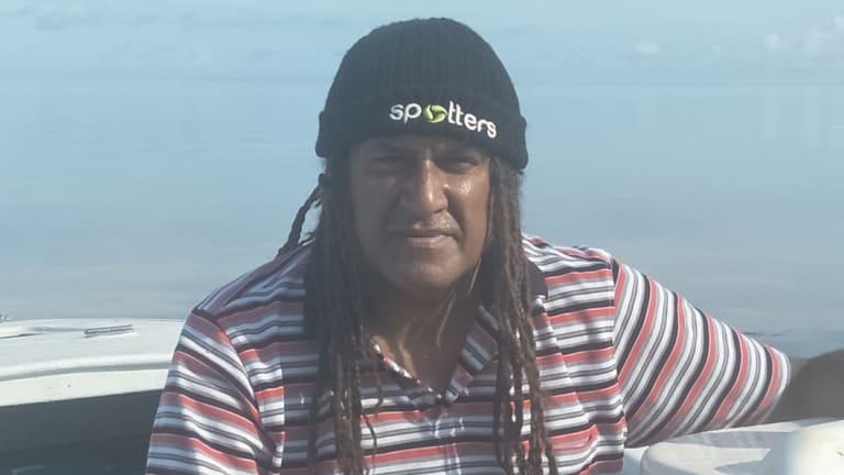 Malu Lama chairman and Torres Strait rock-lobster fisherman Maluwap Nona.
