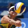 Australia fall short of record gold in beach volleyball final