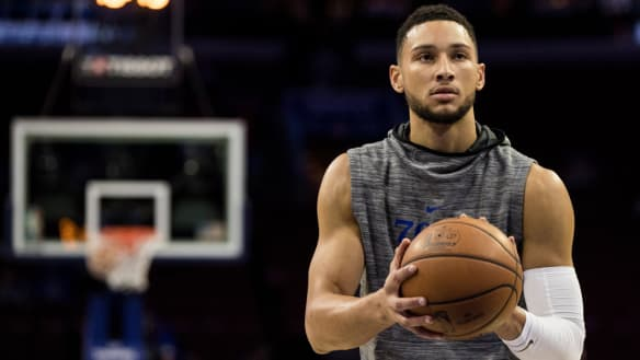 Simmons forced out of NBA clash as 76ers win