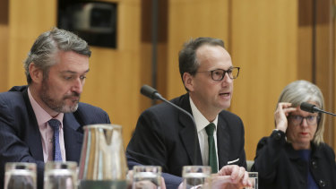 Daniel Crennan and James Shipton from the Australian Securities and Investments Commission.