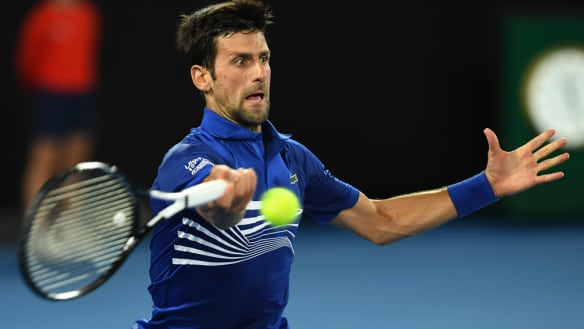 Australian Open 2019: Djokovic on song against Tsonga