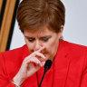 Shaken Sturgeon denies conspiracy in eight-hour testimony
