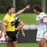 'No alternative': NRL insists referee was right to send off biter