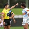 'No alternative': NRL insists referee was right to send off biter