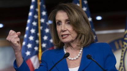 Distorted video of Nancy Pelosi edited to sound drunk spreading across social media