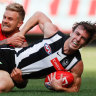 Magpies eclipsed as Suns turn up heat on Buckley