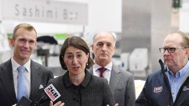 "Premier Gladys Berejiklian says she ""absolutely"" wants Mulgoa MP Tanya Davies to remain the Liberal Party."