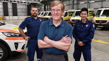 Saved three times by ambos: the many, many lives of Ronald Gallagher