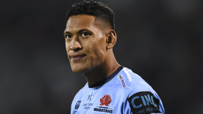 When all is said and done, it's over for Israel Folau