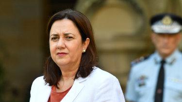 Queensland Premier Annastacia Palaszczuk says authorities are preparing for the state's coronavirus peak in months, not weeks.