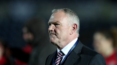 'Disrespectful': England FA chair Greg Clarke snubbed Australia and New Zealand.