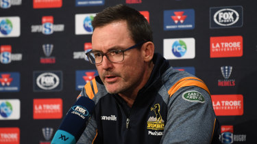 "Brumbies coach Dan McKellar was ""shattered"" after the three-point loss to Melbourne."