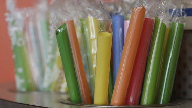 Plastic straws are among the long list of single-use items to banned in the EU by 2021.