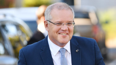 Prime Minister Scott Morrison on Tuesday.