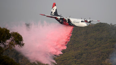 The C-130 Hercules plane crashed after 1pm on Thursday in southern NSW.