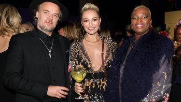 JP Jones, Camilla Franks and Khadija Gbla at Wednesday's InStyle Women Of Style Awards.