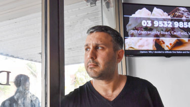 Oded Sailers from Foodalicious Catering is caught up in the alleged TV scam in Australia.