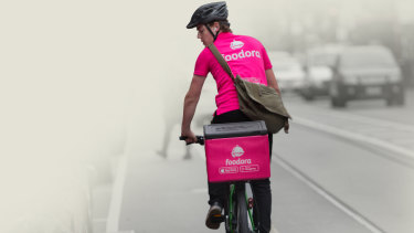 The Fair Work Ombudsman is taking Foodora to court for alleged sham contracting.