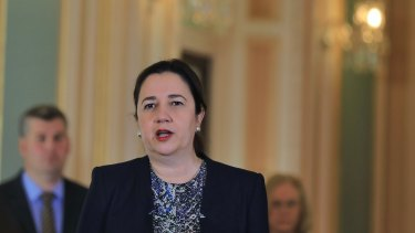 Premier Annastacia Palaszczuk says her health authorities act with compassion, following the death of a baby in a NSW hospital.