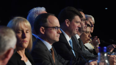 The AGL board at its annual general meeting in September.