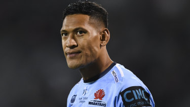 Israel Folau is challenging the right of Rugby Australia to terminate his contract.