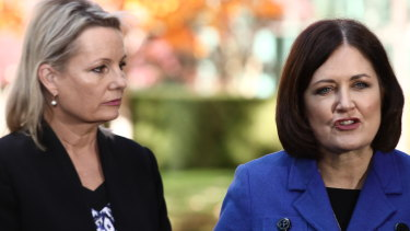 Sussan Ley and Sarah Henderson are pushing a private member's bill that would shut down the live sheep trade.