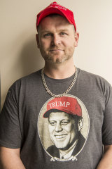Shaun Bankowski has felt his world view affirmed by the rise of Trump.