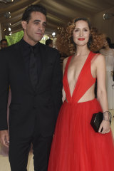 Rose Byrne and Bobby Cannavale attend The Metropolitan Museum of Art's Costume Institute benefit gala in 2017.