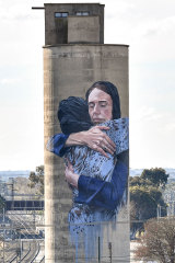 New Zealand Prime Minister Jacinda Ardern's compassionate leadership after the Christchurch massacre inspired this response in Melbourne.