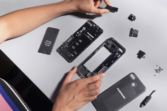 Fairphone's components can be dismantled, replaced and upgraded.