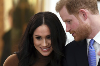 The Duke and Duchess of Sussex. The Queen has summoned Prince Harry to a family meeting.