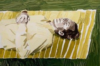 Resting Man by Clara Adolphs.
