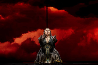 Opera Australia's new production of Aida at the State Theatre features  Leah Crocetto in the title role.