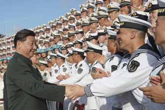 Under Xi Jinping, China is using its armed forces increasingly to intimidate Japan, India and Indonesia among others.