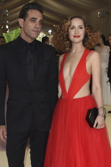 Byrne and Bobby Cannavale, their partner, received a gala in the Metropolitan Museum of Art's Costume Institute in 2017.