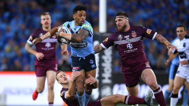 There were a flurry of first-half penalties in this year's Origin game three.