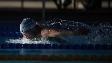 Redemption: Thomas Fraser-Holmes is off to the FINA World Championships, starting in Korea next week.